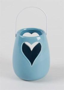 Heart Hurricane Lantern £6